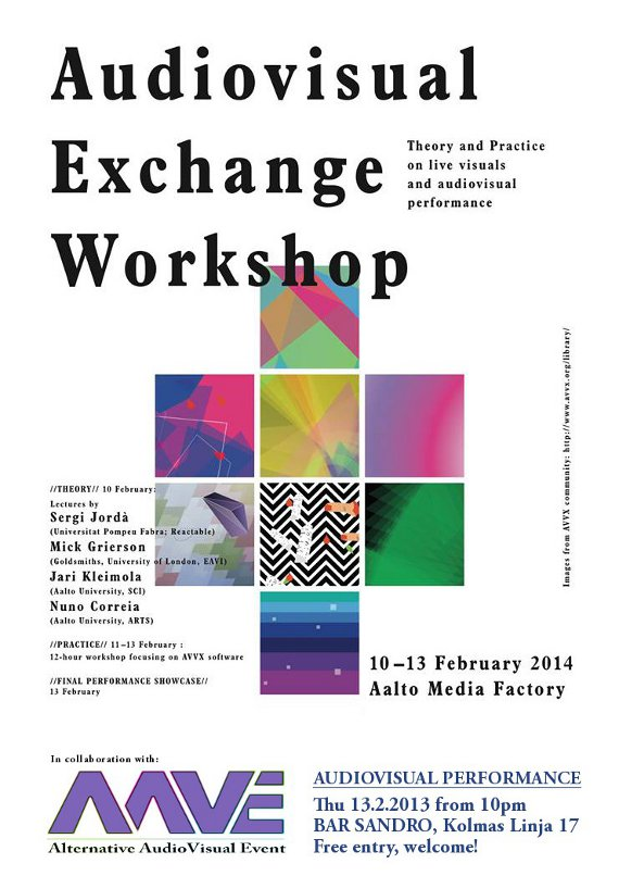 Nuno Correia - Audiovisual Exchange Workshop